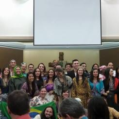 Formatura do Curso de Missões Transculturais em Campinas, 2014